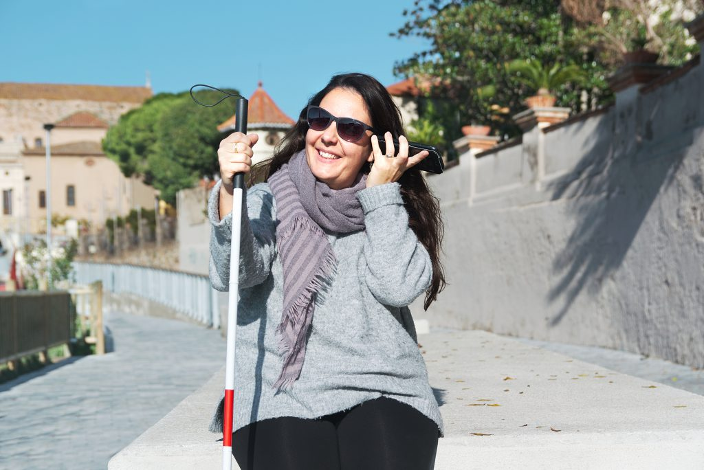 Blind Low Vision Free Low Cost White Cane Accessibility